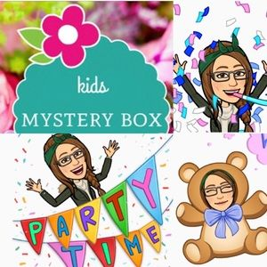 GIRLS 4+ Items Mystery Surprise Box Lot Any Age